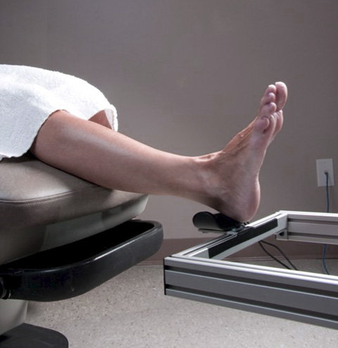custom foot scanner