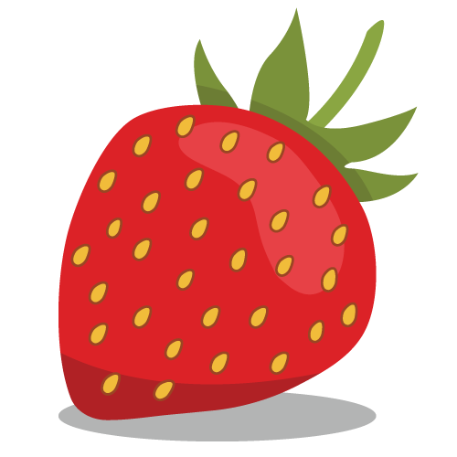 strawberry graphic