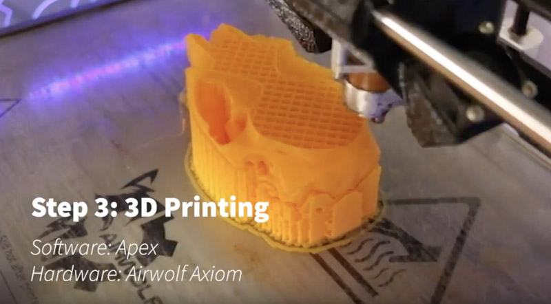 3d printing with Airwolf Axiom