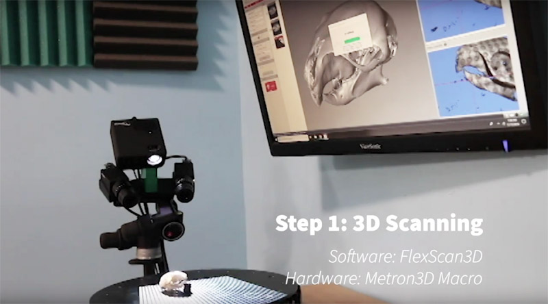 3d scanning object