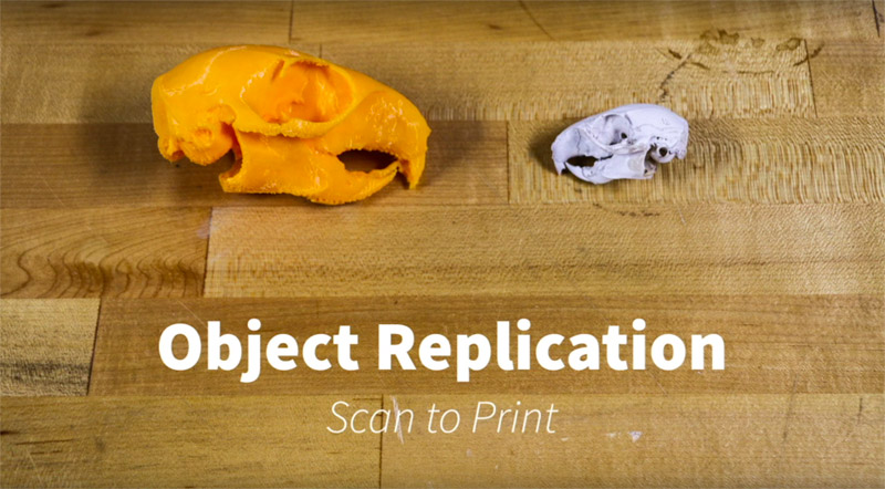 How to 3d scan to 3d print result