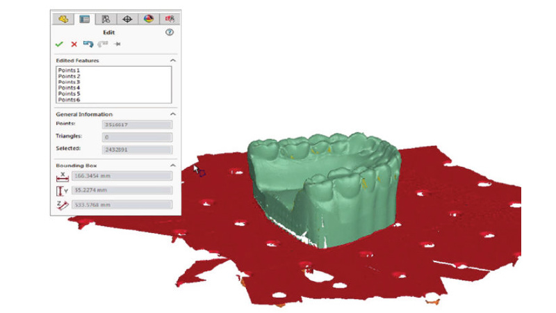 Point Cloud Processing Directly Inside SOLIDWORKS