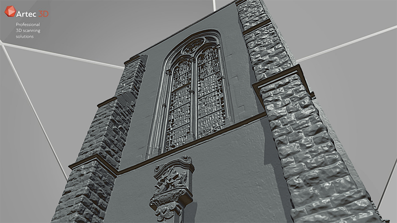 Church Facade 3D Scanning