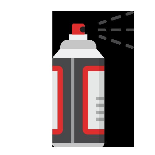 AESUB 3D Scanning Spray Options